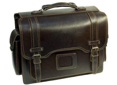 Портфель Unileather 008 коричневый