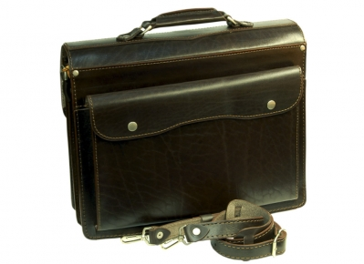 Портфель Unileather 029 коричневый