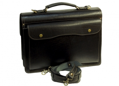 Портфель Unileather 030 черный