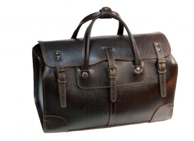 Саквояж Unileather 122 коричневый