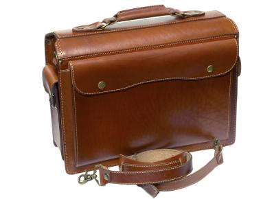 Портфель Unileather 012 светло-коричневый