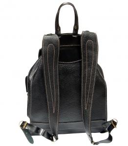 Рюкзак кожаный Unileather БОБ-Ч черный