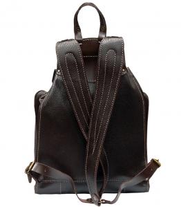 Рюкзак кожаный Unileather БЯ2К коричневый