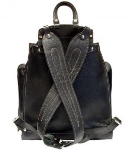 Рюкзак кожаный Unileather БЯ2К черный