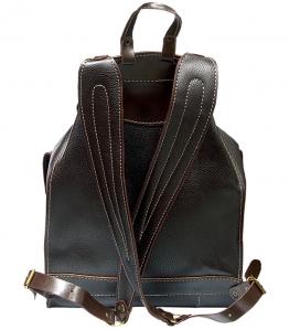 Рюкзак кожаный Unileather БОБ коричневый