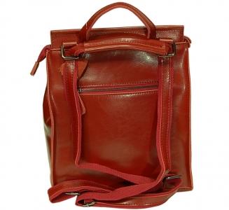 Рюкзак женский кожаный Pyato 060 Red