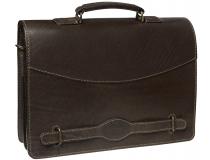 Портфель Sacvoyage СПБ-КЛ коричневый