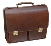 Портфель Sacvoyage СПБ-3К коричневый