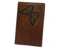 Обложка на паспорт Wanlima 50040940149A2 Coffee