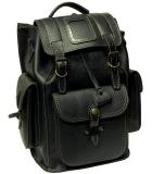 Рюкзак кожаный Unileather 3КБ Викинг черный