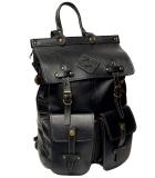 Ранец кожаный Unileather MMP черный