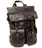 Ранец кожаный  Unileather MMP коричневый