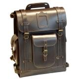 Ранец кожаный Unileather РА3К коричневый