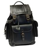 Рюкзак кожаный Unileather 3КБ Викинг 2  черный