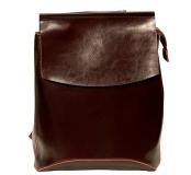 Рюкзак женский кожаный Pyato 807 Coffee