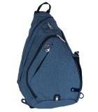 Рюкзак однолямочный Inoxto 8009 Blue